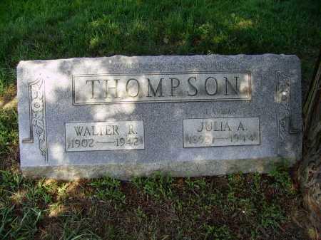 THOMPSON, JULIA ANNA - Stark County, Ohio   JULIA ANNA THOMPSON - Ohio Gravestone Photos