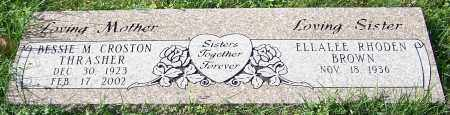 BROWN, ELLALEE RHODEN - Stark County, Ohio | ELLALEE RHODEN BROWN - Ohio Gravestone Photos