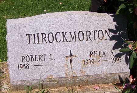 THROCKMORTON, RHEA A. - Stark County, Ohio | RHEA A. THROCKMORTON - Ohio Gravestone Photos