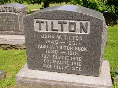 TILTON, ADELIA BUCK - Stark County, Ohio | ADELIA BUCK TILTON - Ohio Gravestone Photos