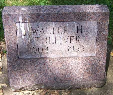 TOLLIVER, WALTER H. - Stark County, Ohio | WALTER H. TOLLIVER - Ohio Gravestone Photos