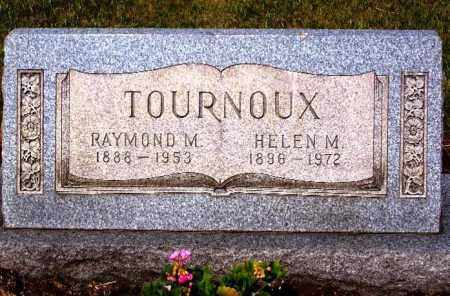 UPPERMAN TOURNOUX, HELEN M. - Stark County, Ohio | HELEN M. UPPERMAN TOURNOUX - Ohio Gravestone Photos