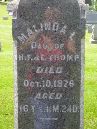 TROMP, MALINDA L. - Stark County, Ohio   MALINDA L. TROMP - Ohio Gravestone Photos