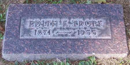 TROPE, EDITH E. - Stark County, Ohio | EDITH E. TROPE - Ohio Gravestone Photos