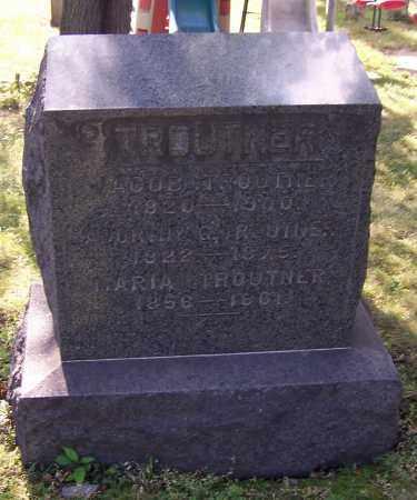 TROUTNER, JACOB - Stark County, Ohio | JACOB TROUTNER - Ohio Gravestone Photos