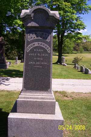 TROXEL, JOHN - Stark County, Ohio | JOHN TROXEL - Ohio Gravestone Photos
