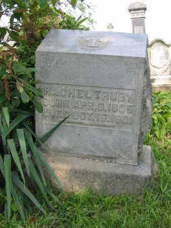TRUBY, RACHEL - Stark County, Ohio | RACHEL TRUBY - Ohio Gravestone Photos