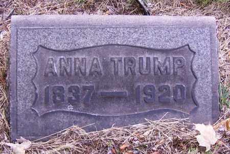 BAIR TRUMP, ANNA - Stark County, Ohio   ANNA BAIR TRUMP - Ohio Gravestone Photos