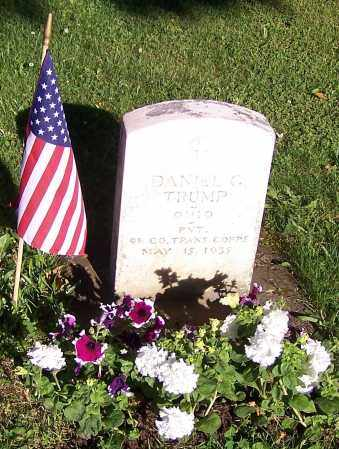 TRUMP, DANIEL GILBERT - Stark County, Ohio   DANIEL GILBERT TRUMP - Ohio Gravestone Photos