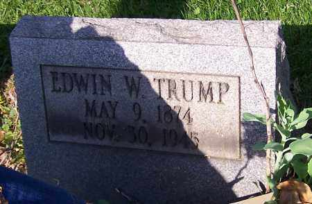 TRUMP, EDWIN W. - Stark County, Ohio | EDWIN W. TRUMP - Ohio Gravestone Photos