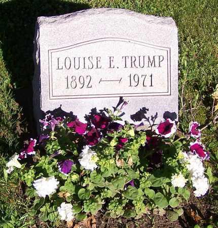 TRUMP, LOUISE E. - Stark County, Ohio   LOUISE E. TRUMP - Ohio Gravestone Photos