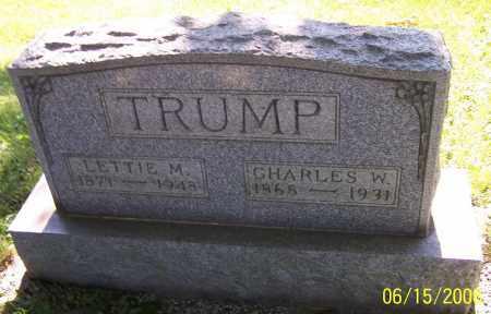 TRUMP, CHARLES W. - Stark County, Ohio | CHARLES W. TRUMP - Ohio Gravestone Photos