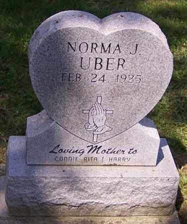 UBER, NORMA J. - Stark County, Ohio | NORMA J. UBER - Ohio Gravestone Photos