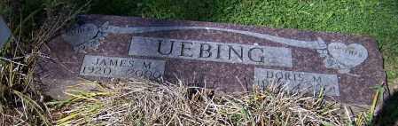 UEBING, JAMES M. - Stark County, Ohio | JAMES M. UEBING - Ohio Gravestone Photos