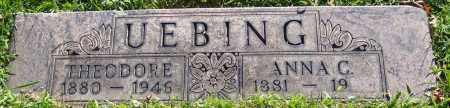 UEBING, THEODORE - Stark County, Ohio | THEODORE UEBING - Ohio Gravestone Photos