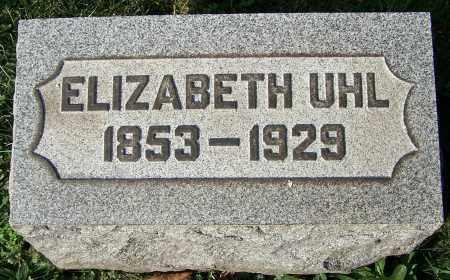 UHL, ELIZABETH - Stark County, Ohio | ELIZABETH UHL - Ohio Gravestone Photos