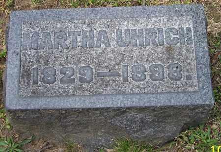 UHRICH, MARTHA - Stark County, Ohio | MARTHA UHRICH - Ohio Gravestone Photos