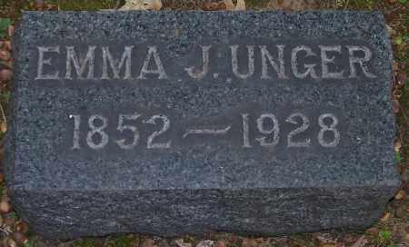 UNGER, EMMA J. - Stark County, Ohio | EMMA J. UNGER - Ohio Gravestone Photos