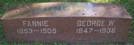 UNGER, GEORGE W. - Stark County, Ohio | GEORGE W. UNGER - Ohio Gravestone Photos