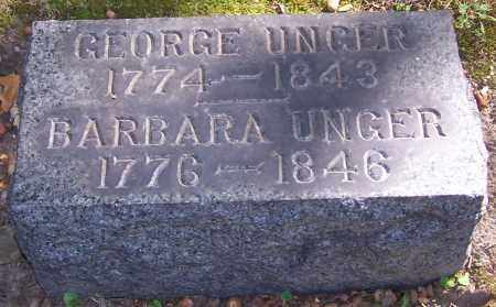 UNGER, BARBARA - Stark County, Ohio   BARBARA UNGER - Ohio Gravestone Photos