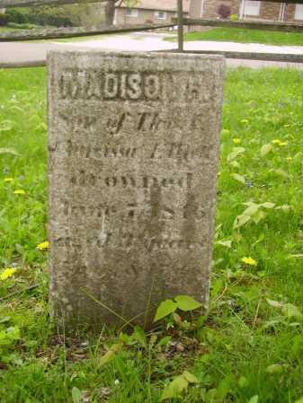 UNKNOWN, MADISON H. - Stark County, Ohio | MADISON H. UNKNOWN - Ohio Gravestone Photos