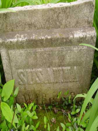 UNKNOWN, SUSANNA WIFE OF - Stark County, Ohio   SUSANNA WIFE OF UNKNOWN - Ohio Gravestone Photos