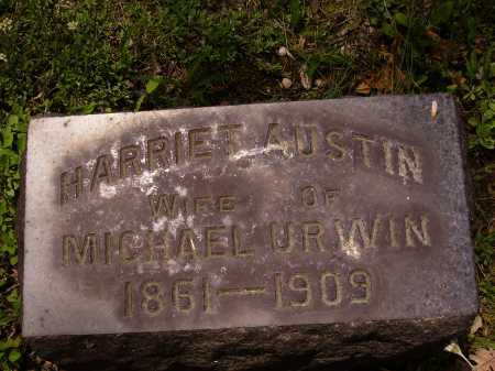 URWIN, HARRIET - Stark County, Ohio | HARRIET URWIN - Ohio Gravestone Photos