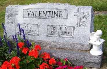 BROWN VALENTINE, RUTH M. - Stark County, Ohio | RUTH M. BROWN VALENTINE - Ohio Gravestone Photos
