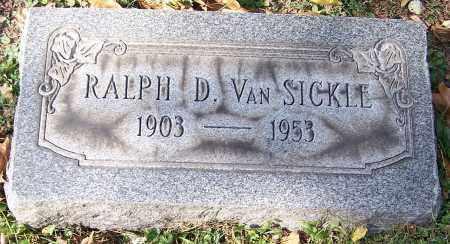 VAN SICKLE, RALPH D. - Stark County, Ohio   RALPH D. VAN SICKLE - Ohio Gravestone Photos