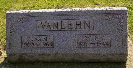 VANLEHN, IRVENT T. - Stark County, Ohio | IRVENT T. VANLEHN - Ohio Gravestone Photos