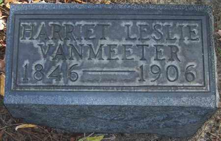 VANMEETER, HARRIET LESLIE - Stark County, Ohio | HARRIET LESLIE VANMEETER - Ohio Gravestone Photos