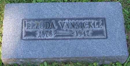 VANSICKLE, ELZODA - Stark County, Ohio | ELZODA VANSICKLE - Ohio Gravestone Photos