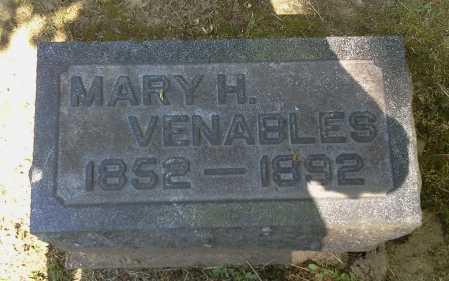VENABLES, MARY H. - Stark County, Ohio | MARY H. VENABLES - Ohio Gravestone Photos