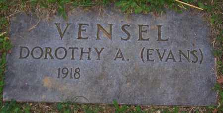 VENSEL, DOROTHY A. - Stark County, Ohio | DOROTHY A. VENSEL - Ohio Gravestone Photos