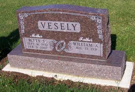 VESELY, WILLIAM A. - Stark County, Ohio | WILLIAM A. VESELY - Ohio Gravestone Photos