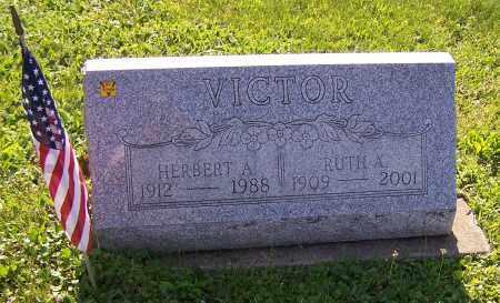 VICTOR, RUTH A. - Stark County, Ohio | RUTH A. VICTOR - Ohio Gravestone Photos