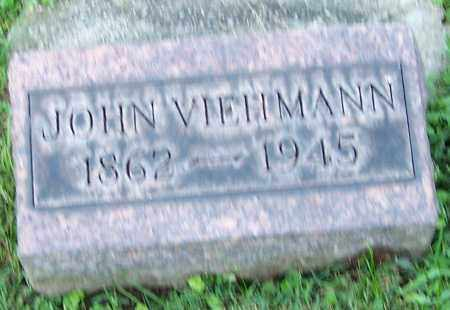 VIEHMANN, JOHN - Stark County, Ohio | JOHN VIEHMANN - Ohio Gravestone Photos