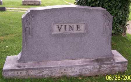 VINE, LOUISA A. - Stark County, Ohio | LOUISA A. VINE - Ohio Gravestone Photos