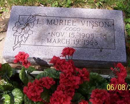 VINSON, L. MURIEL 'COCO' - Stark County, Ohio | L. MURIEL 'COCO' VINSON - Ohio Gravestone Photos