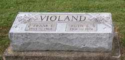 VIOLAND, RUTH  E. - Stark County, Ohio   RUTH  E. VIOLAND - Ohio Gravestone Photos
