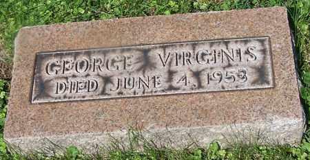 VIRGINIS, GEORGE - Stark County, Ohio | GEORGE VIRGINIS - Ohio Gravestone Photos