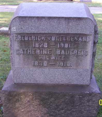 VOGELGESANG, FREDERICK - Stark County, Ohio | FREDERICK VOGELGESANG - Ohio Gravestone Photos