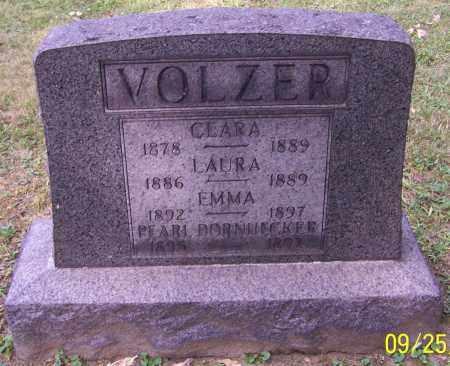 VOLZER, CLARA - Stark County, Ohio | CLARA VOLZER - Ohio Gravestone Photos