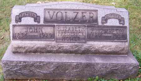 HOMER, ELIZABETH FREDERICK - Stark County, Ohio | ELIZABETH FREDERICK HOMER - Ohio Gravestone Photos
