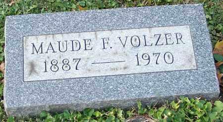 VOLZER, MAUDE F. - Stark County, Ohio   MAUDE F. VOLZER - Ohio Gravestone Photos