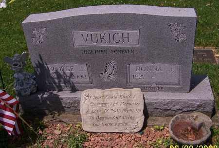VUKICH, DONNA J. - Stark County, Ohio | DONNA J. VUKICH - Ohio Gravestone Photos