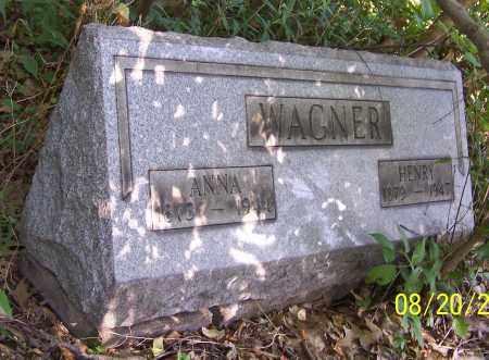 WAGNER, ANNA - Stark County, Ohio | ANNA WAGNER - Ohio Gravestone Photos