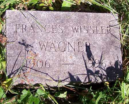 WAGNER, FRANCES WISSLER - Stark County, Ohio | FRANCES WISSLER WAGNER - Ohio Gravestone Photos