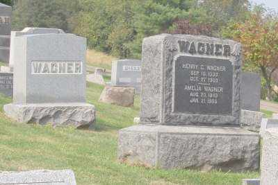 WAGNER, HENRY C. AND AMELIA - Stark County, Ohio | HENRY C. AND AMELIA WAGNER - Ohio Gravestone Photos