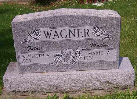 WAGNER, MARIE A. - Stark County, Ohio | MARIE A. WAGNER - Ohio Gravestone Photos
